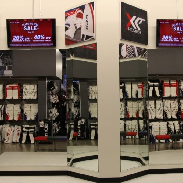 Retail Store Digital Signage
