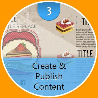create and publish